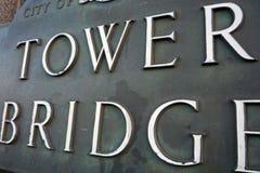 Kontrollturm Bridge1 Stockbilder