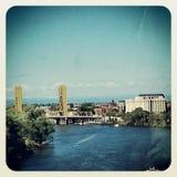 Kontrollturm Bridge1 Lizenzfreies Stockfoto