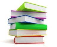Kontrollturm der Bücher stock abbildung