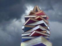 Kontrollturm der Bücher Lizenzfreies Stockfoto