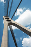Kontrollturm der Brücke Stockfoto