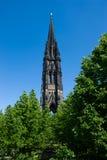 Kontrollturm der Kirche von Sankt Nikolaus Stockfotografie