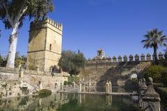 Kontrollturm der Löwen. Cordoba. Andalusien, Spanien. Stockfoto