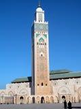 Kontrollturm der Moschee Stockfotos