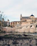 Kontrollturm der Moschee von Cordoba Stockbild