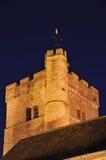 Kontrollturm der Priory-Kirche Stockfotos