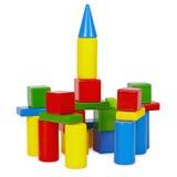 Kontrollturm der Spielzeugziegelsteine Lizenzfreie Stockfotografie