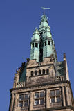 Kontrollturm der Stadtwohnung von Muenster lizenzfreie stockbilder