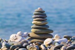 Kontrollturm der Steine Stockfotos