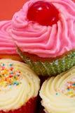 Kontrollturm der verschiedenen kleiner Kuchen Lizenzfreie Stockfotos