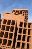 Kontrollturm der Ziegelsteine stockfotografie