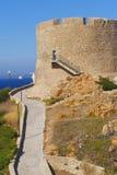 Kontrollturm des 15. Jahrhunderts Stockbild