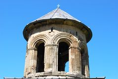 Kontrollturm des alten Klosters Lizenzfreie Stockfotografie