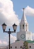 Kontrollturm des Kazan Kremlin Lizenzfreies Stockbild