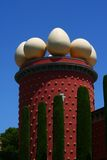 Kontrollturm des Museums von Salvador Dali Stockbilder