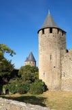 Kontrollturm des Schlosses Lizenzfreies Stockbild