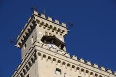 Kontrollturm des Schlosses stockfotografie