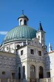 Kontrollturm des Schlosses in Krasiczyn Lizenzfreies Stockfoto