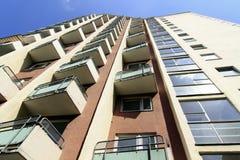 Kontrollturm-Fassade lizenzfreie stockfotos