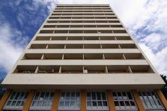 Kontrollturm-Fassade stockfoto