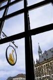 Kontrollturm Hall, Aachen, Deutschland Lizenzfreies Stockbild