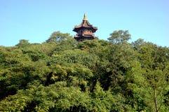 Kontrollturm im chinesischen Park Stockfoto