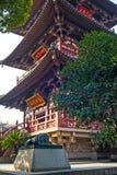 Kontrollturm im Hanshan Tempel Stockfotografie