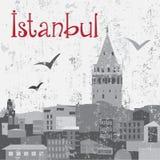Kontrollturm Istanbul-Galata Stockfotografie