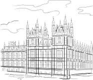 Kontrollturm in London Lizenzfreie Stockbilder