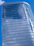 Kontrollturm mit Fensterreflexionen Lizenzfreie Stockfotografie