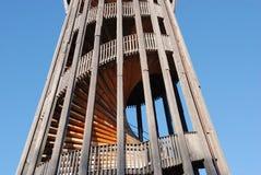 Kontrollturm mit gewundenem staricase Lizenzfreie Stockfotografie