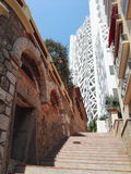Kontrollturm in Monaco Stockbild