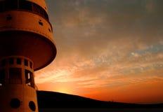 Kontrollturm nahe Migdal haEmek Lizenzfreies Stockfoto