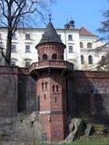 Kontrollturm in Olomouc Stockbild