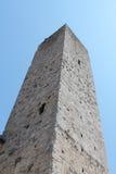 Kontrollturm San-Gimignano Lizenzfreies Stockfoto