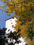 Kontrollturm, Schloss Bitov, Tschechische Republik, Europa stockfotografie