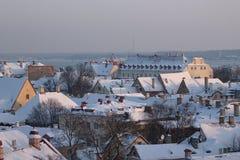 Kontrollturm Tallin Lizenzfreies Stockbild