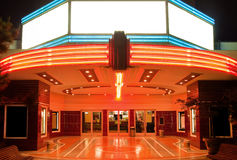 Kontrollturm-Theater in Sacramento Lizenzfreie Stockfotos