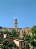 Kontrollturm in Toskana Lizenzfreie Stockfotos