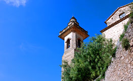 Kontrollturm in Valldemossa (Majorca - Spanien) Lizenzfreies Stockfoto