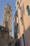 Kontrollturm in Venedig Stockfoto