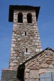 Kontrollturm an Villefrance-De-Conflent Lizenzfreie Stockfotografie