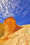 Kontrollturm vom Sandstein. Stockfoto