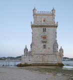 Kontrollturm von Belem, Lissabon Lizenzfreies Stockfoto