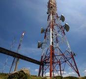 Kontrollturm von comunications Lizenzfreies Stockbild
