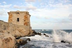 Kontrollturm von Ligny in Trapani - Sizilien Lizenzfreie Stockfotos