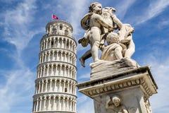 Kontrollturm von Pisa Stockbild