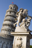 Kontrollturm von Pisa stockfotografie