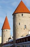 Kontrollturm von Tallinn Stockfoto