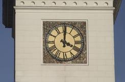 Kontrollturmborduhr mit römischen Digits lizenzfreies stockbild